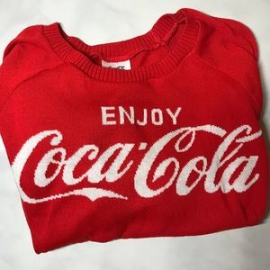 Enjoy Coca - Cola Vintage Inspired Sweater